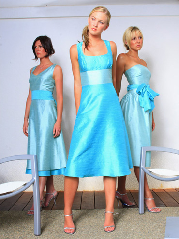 Brown Dress on Turning Heads With Turquoise   My Wedding Bag