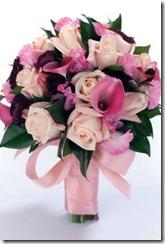 nosegay pink bouquet