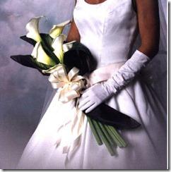 presentation bouquet calla