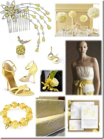 pale yellow inspiration board