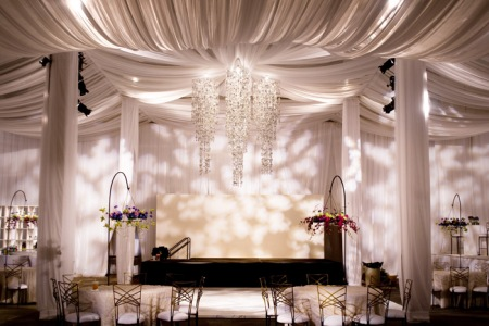 Fabric Draped Ceilings My Wedding Bag