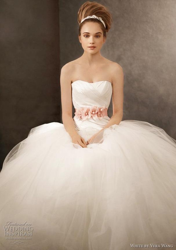 Vera wang wedding my wedding bag for Wedding sashes for dresses