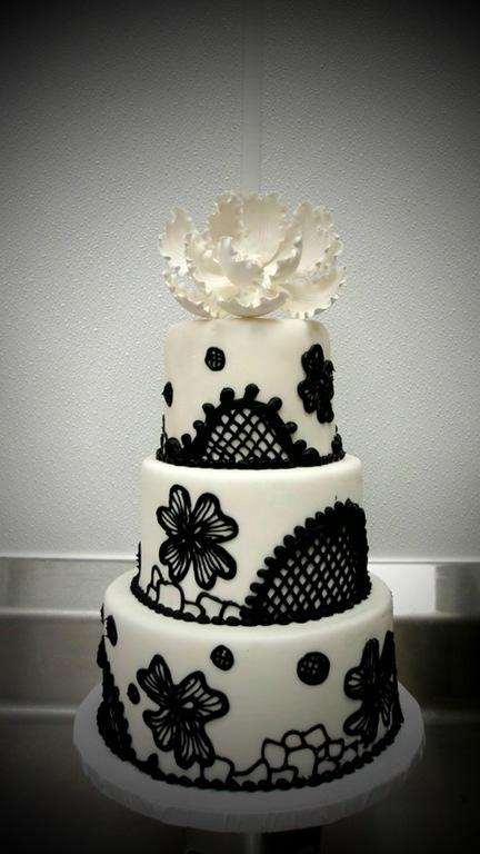 Торт гифка черно белая