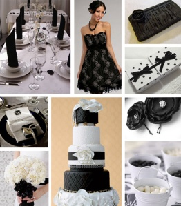black+and+white+wedding+theme