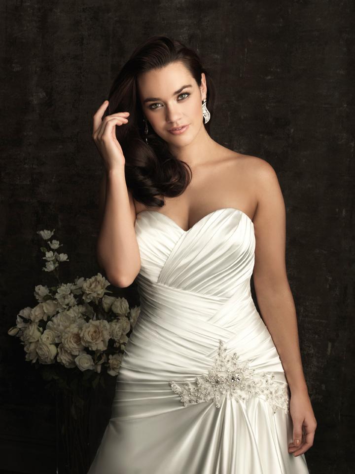 Wedding Dresses For Petite Curvy Brides : January my wedding bag