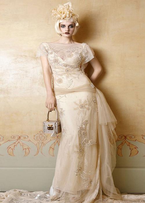 Fair skin wedding dress color