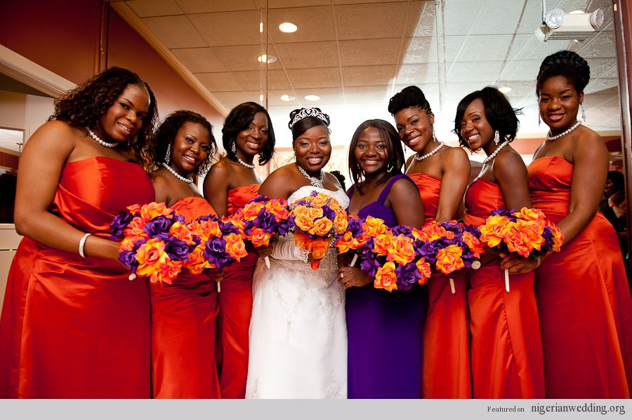 Fall Bridesmaids Colors